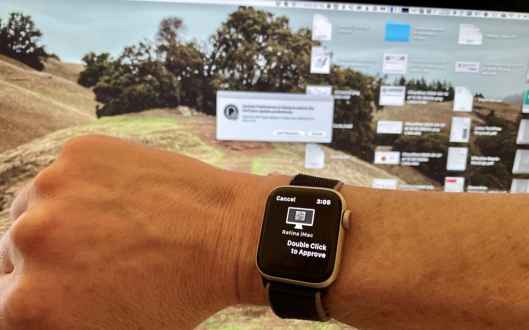 Approve App Authentication Requests with Your Apple Watch in Catalina